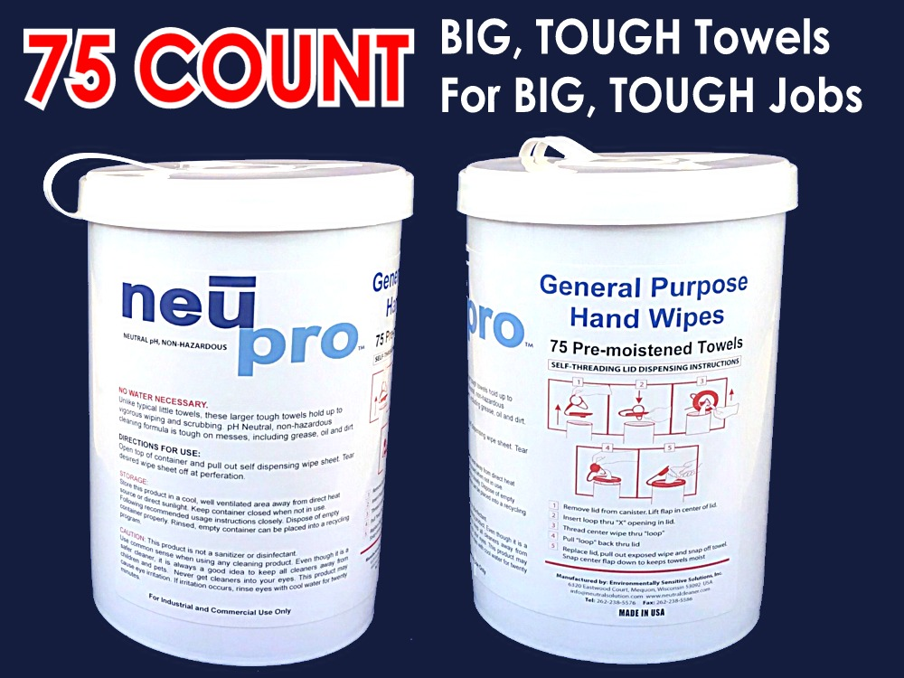 NEUPRO™ All Purpose Wipes