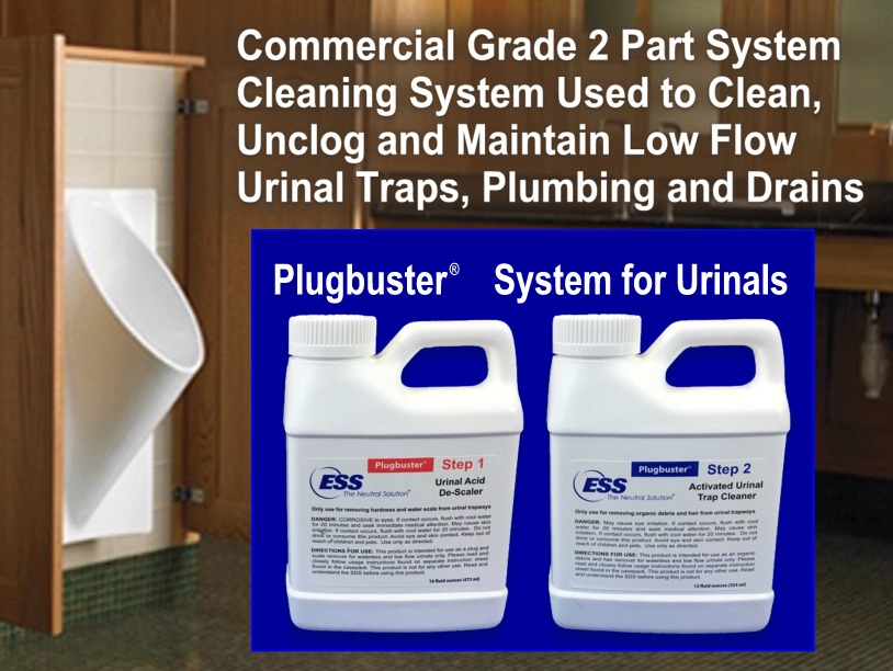 Plugbuster™ System for Urinals (SINGLE Treatment)